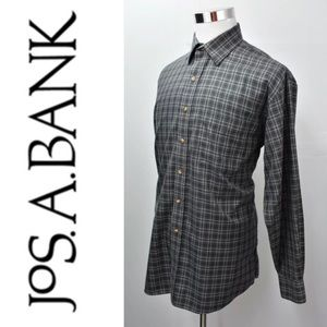 JOS. A BANK Traveler Collection Dress Shirt L